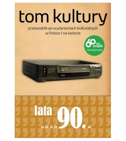 Tom Kultury. Lata 90.(oprawa miękka)