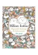 Milion kotów. Wspaniałe ilustracje do kolorowania - Mayo Lulu (oprawa miękka)