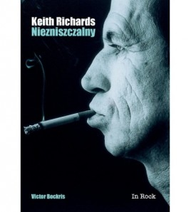 KEITH RICHARDS. Niezniszczalny - Victor Bockris (oprawa miękka)