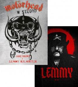 Motörhead w studio i Lemmy - Zestaw książek o Motörhead