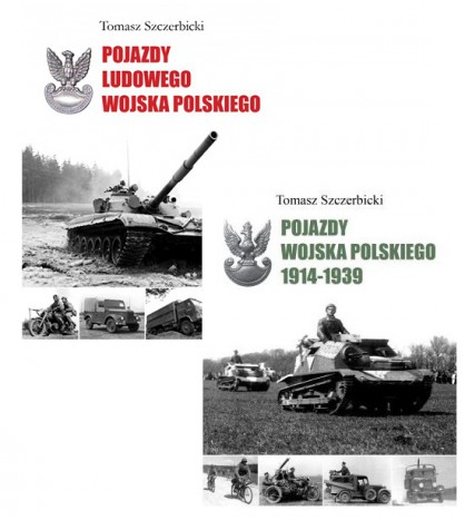 Zestaw książek dla miłośników Wojska Polskiego