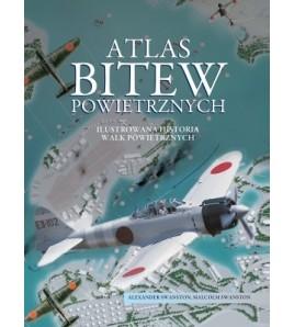 Atlas bitew powietrznych - Alexander Swanston (oprawa twarda) - Powystawowa