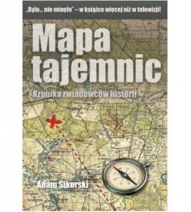 Mapa tajemnic. Tom 1 - Kronika zwiadowców historii - Adam Sikorski (oprawa miękka) - Powystawowa