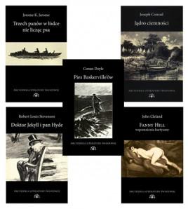 img Pięć klasycznych powieści literatury światowej w promocyjnej cenie