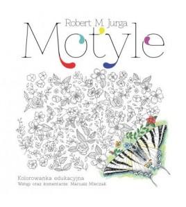 Motyle. Kolorowanka - Jurga Robert (oprawa miękka)